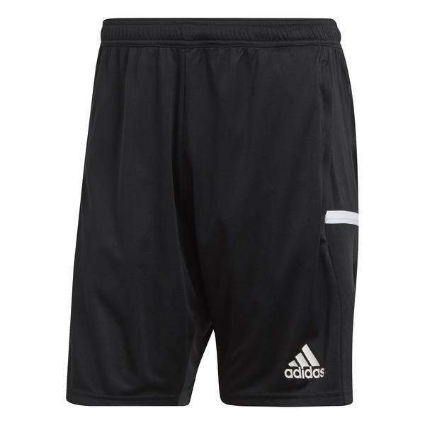 adidas Team 19 3 Additional Pockets Black/White Knit Shorts