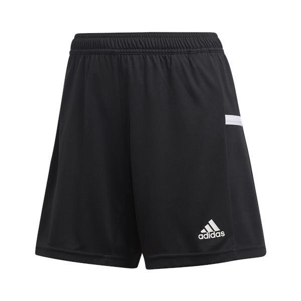 adidas Team 19 Womens Knit Shorts White/black