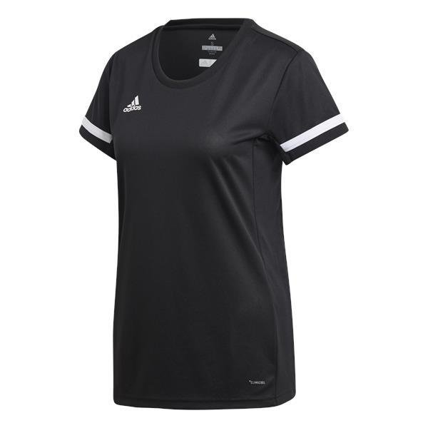 adidas Team 19 Womens Jersey SS White/black