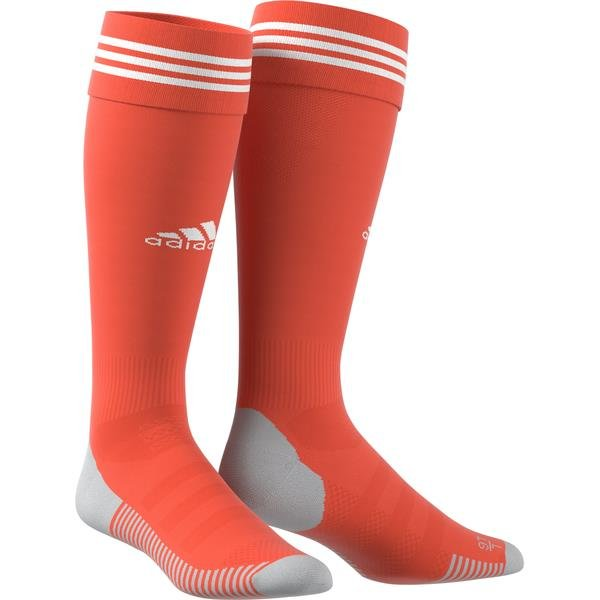adidas ADI SOCK 18 Goalkeeper Sock Semi Solar Red/white