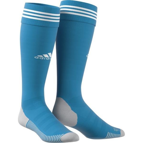 adidas ADI SOCK 18 Bold Aqua/White Goalkeeper Sock