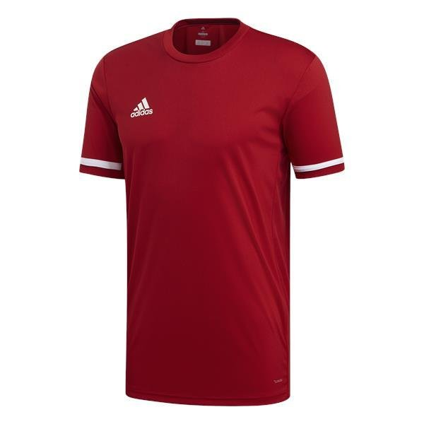 6e88d6fed2a adidas Team 19 Power Red White Jersey SS