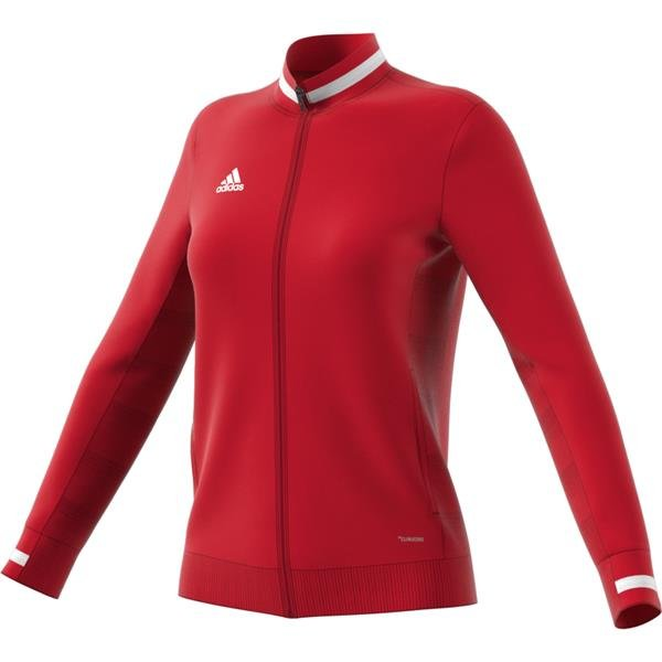 adidas Team 19 Womens Power Red/White Track Jacket