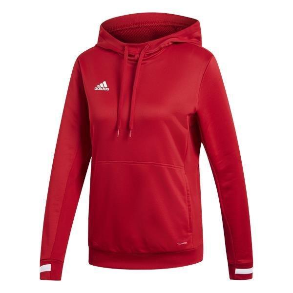 adidas Team 19 Womens Power Red/White Hoody