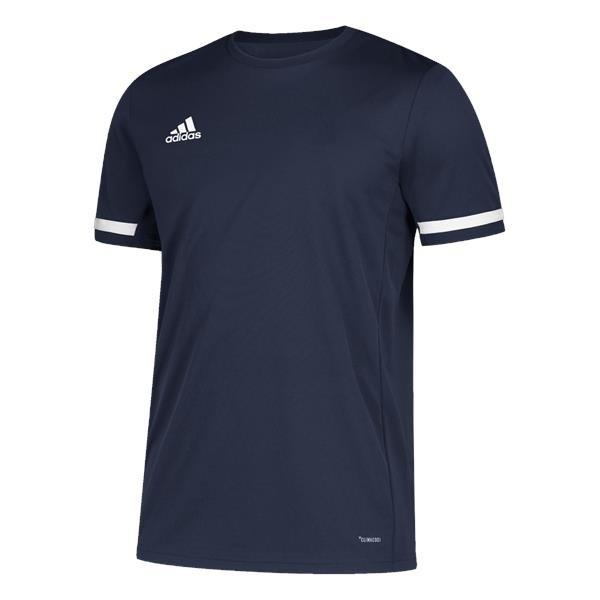 adidas Team 19 Team Navy Blue/White Jersey SS
