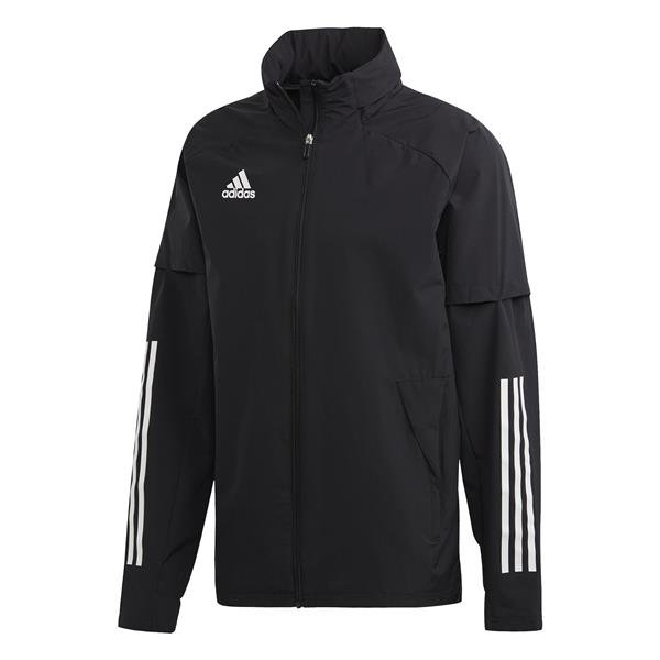 adidas Condivo 20 All Weather Jacket White/black