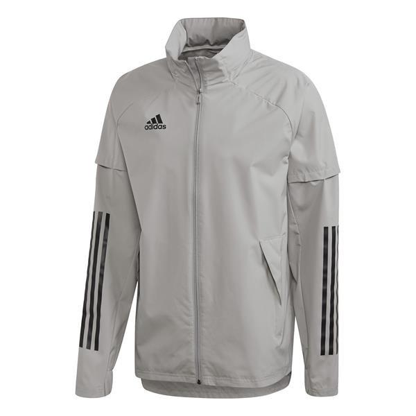 adidas Condivo 20 Team Mid Grey/Black All Weather Jacket