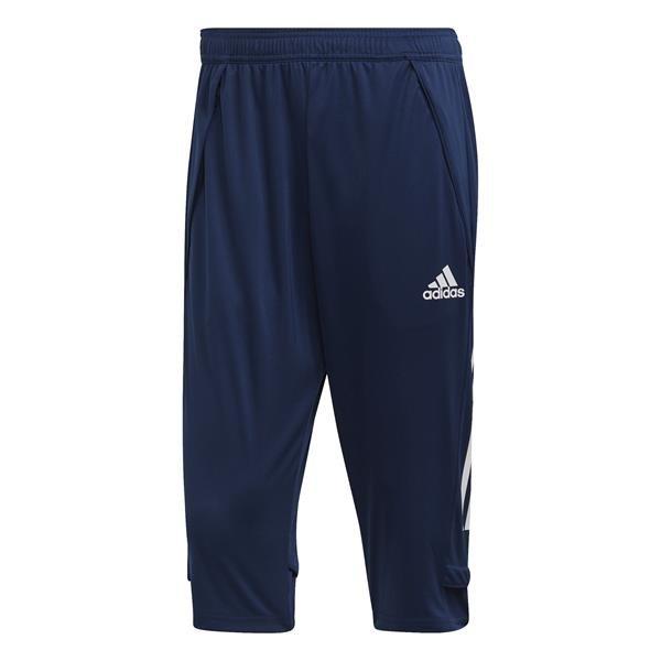 adidas Condivo 20 Team Navy Blue/White 3/4 Pants