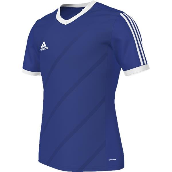 adidas Tabela 14 Bold Blue/White SS Football Shirt Youths