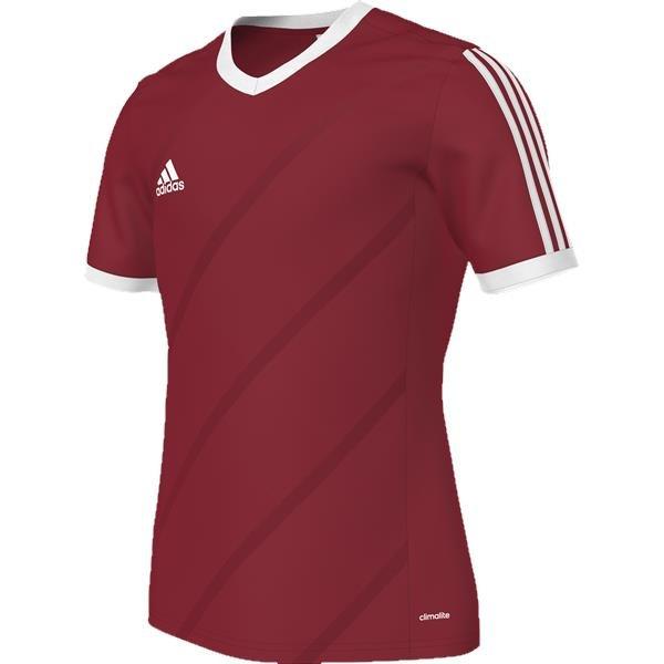 adidas Tabela 14 Uni Red/White SS Football Shirt