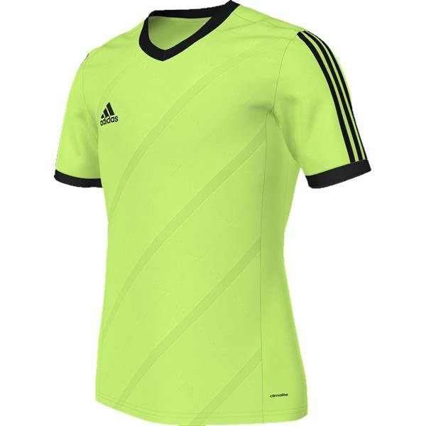 adidas Tabela 14 Macaw/Black SS Football Shirt Youths