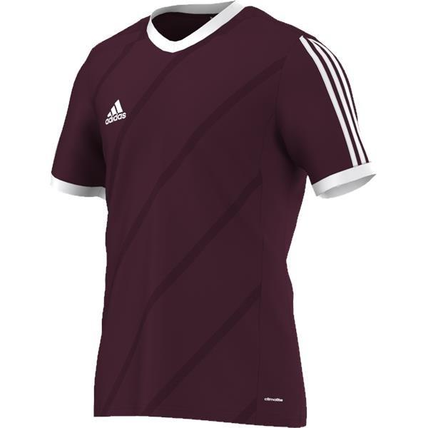 adidas Tabela 14 Light Maroon/White SS Football Shirt