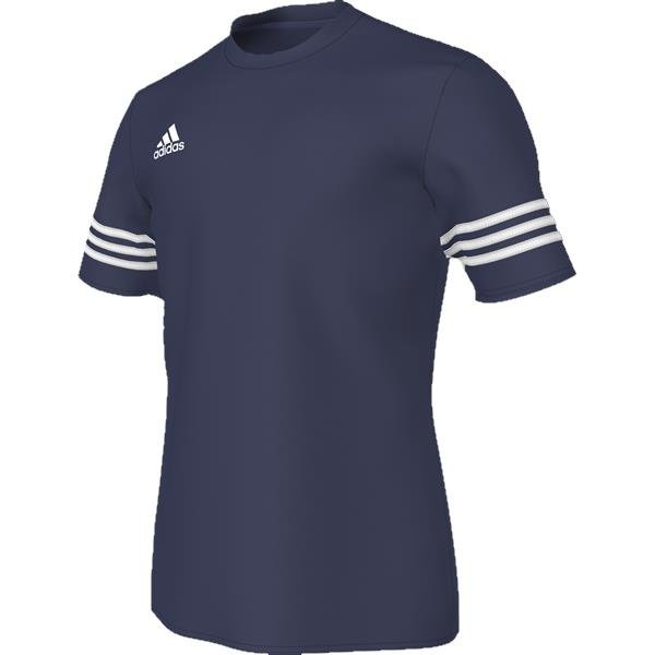 adidas Entrada 14 Dark Blue/White Football Jersey