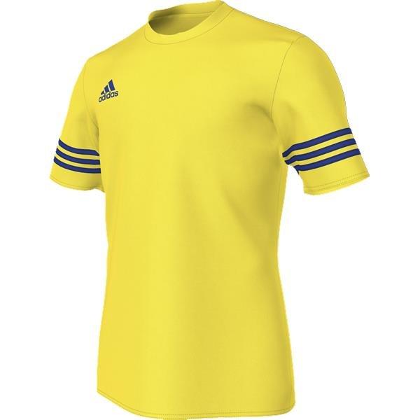 adidas Entrada 14 Yellow/Bold Blue Football Jersey
