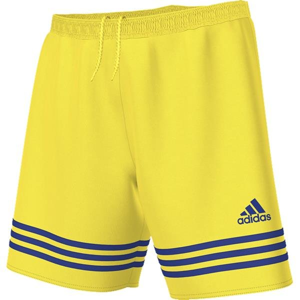 adidas Entrada 14 Yellow/Bold Blue Football Short