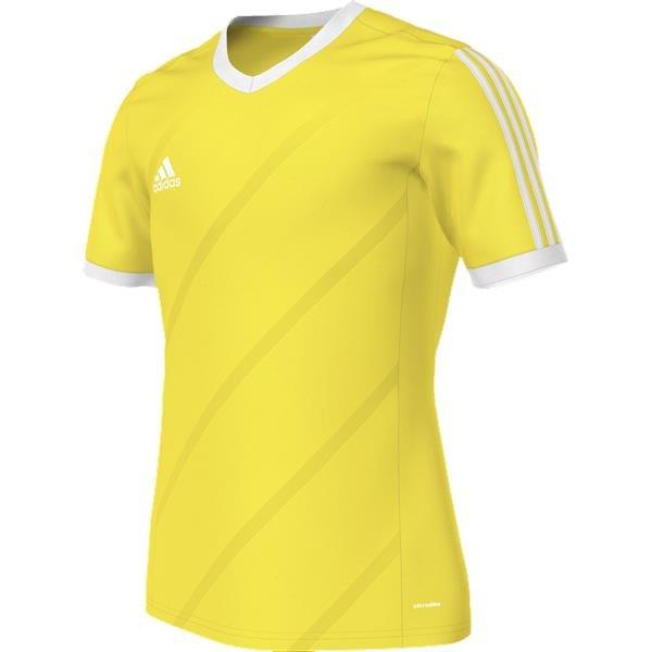 cbde97c8f4f5 adidas Tabela 14 Yellow White SS Football Shirt