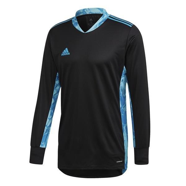 adidas ADI Pro 20 Black/Bold Aqua Goalkeeper Shirt