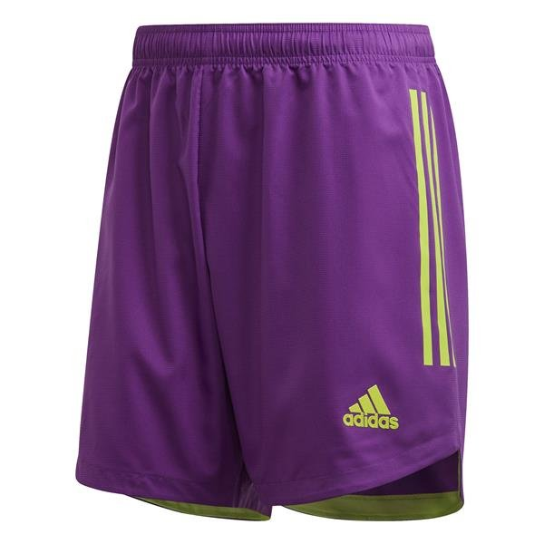 adidas Condivo 20 Glory Purple/Semi Sol Green Goalkeeper Short