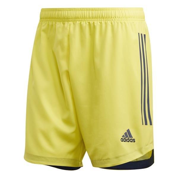 adidas Condivo 20 Shock Yellow/Team Navy Blue Goalkeeper Short