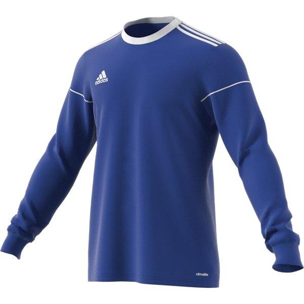 adidas Squadra 17 LS Bold Blue/White Football Shirt