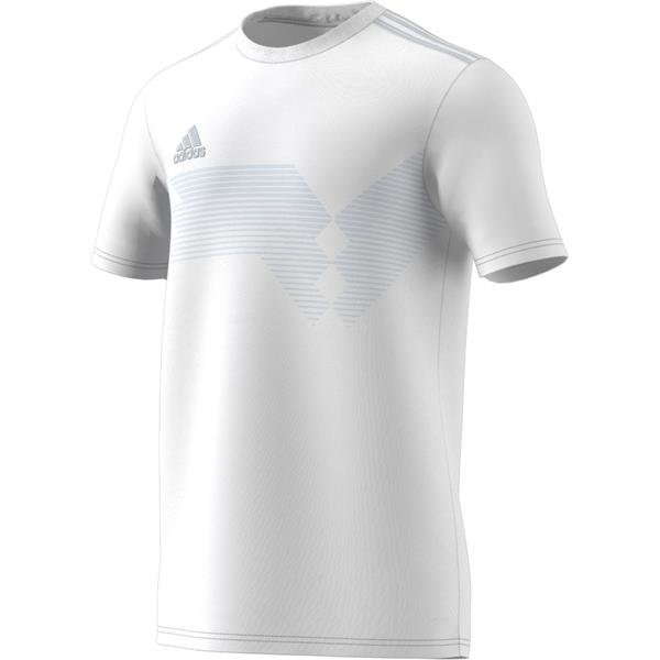 adidas Campeon 19 White/Clear Grey Football Shirt