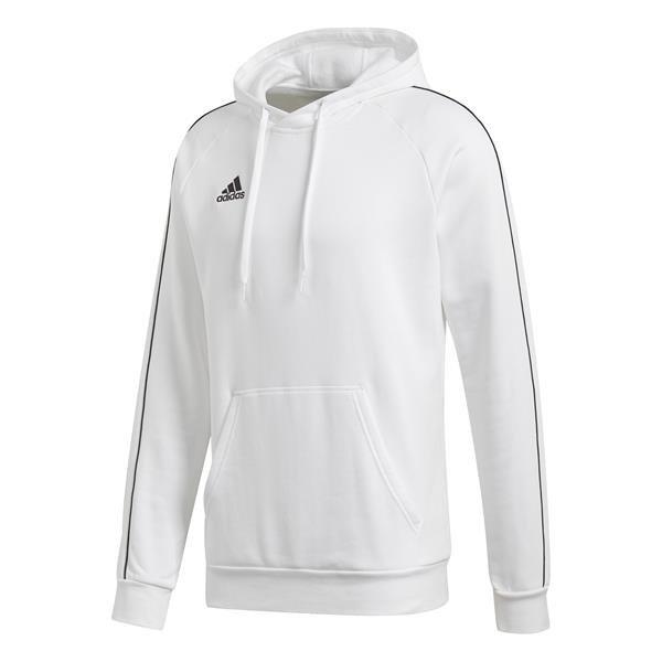 adidas Core 18 White/Black Hoody