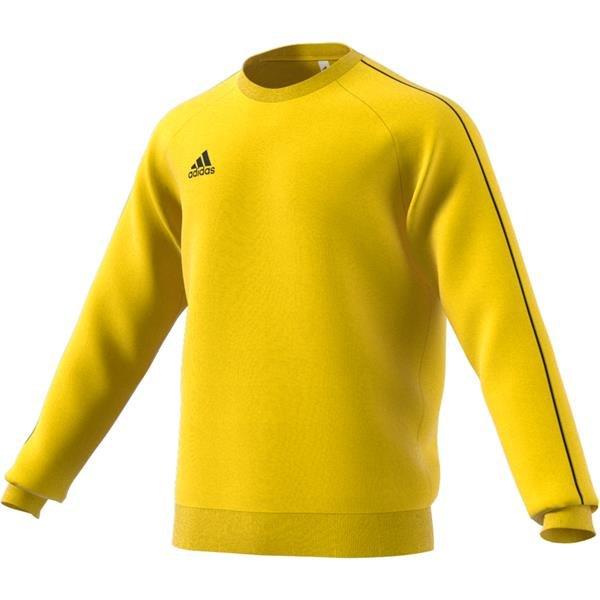 adidas Core 18 Yellow/Black Sweat Top
