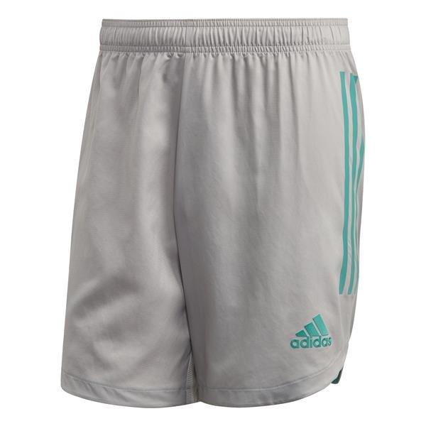 adidas Condivo 20 Team Mid Grey/Glory Green Goalkeeper Short