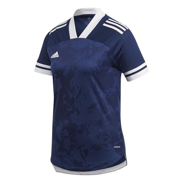 adidas Condivo 20 Womens Team Navy Blue/White Football Shirt
