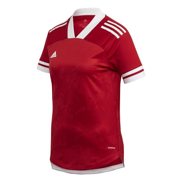adidas Condivo 20 Womens Team Power Red/White Football Shirt