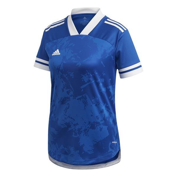 adidas Condivo 20 Womens Team Royal Blue/White Football Shirt
