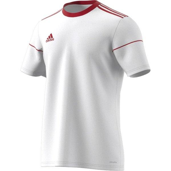 adidas Squadra 17 SS White/Power Red Football Shirt Youths