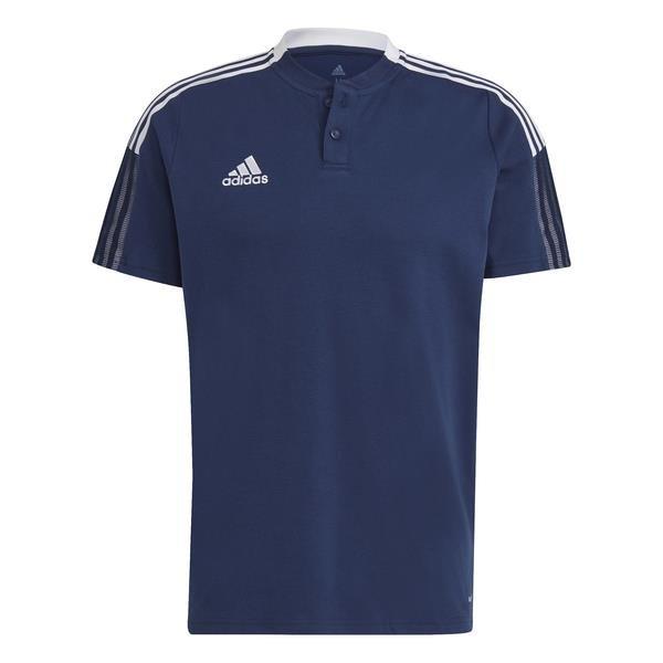 adidas Tiro 21 Team Navy Blue/White Polo
