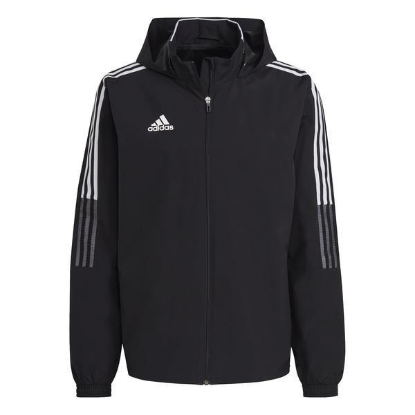 adidas Tiro 21 All Weather Jacket White/black