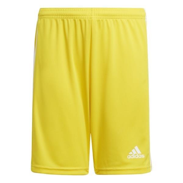 adidas Squadra 21 Team Yellow/White Football Short