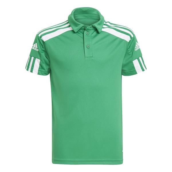 adidas Squadra 21 Team Green/White Polo