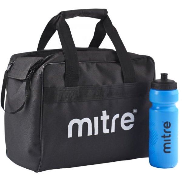 8 Mitre Bottles & Carry Bag
