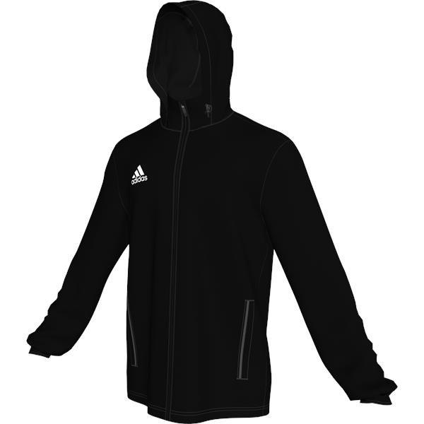adidas Core 15 Black/White Rain Jacket
