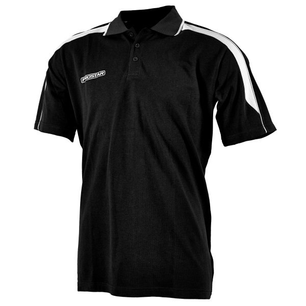 Prostar Magnetic Black/White Polo Shirt