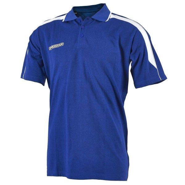 Prostar Magnetic Royal/White Polo Shirt