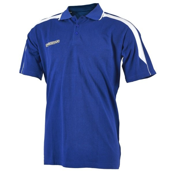 Prostar Magnetic Royal/White Polo Shirt