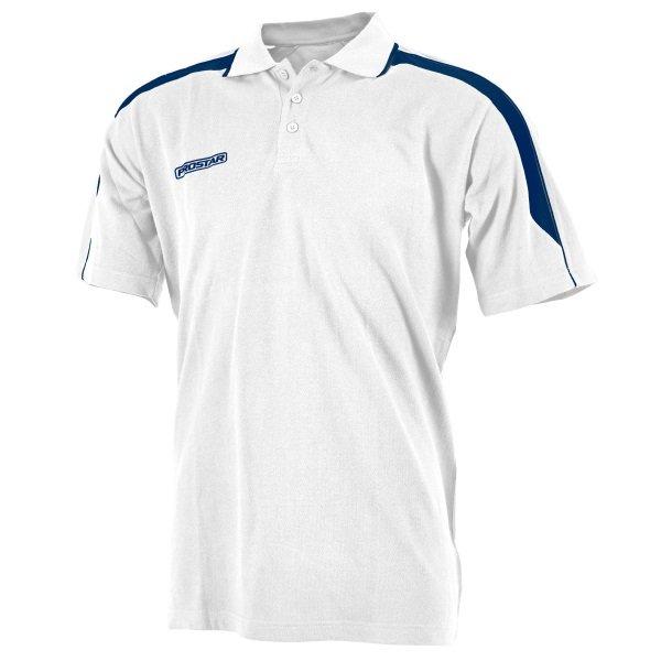 Prostar Magnetic White/Navy Polo Shirt