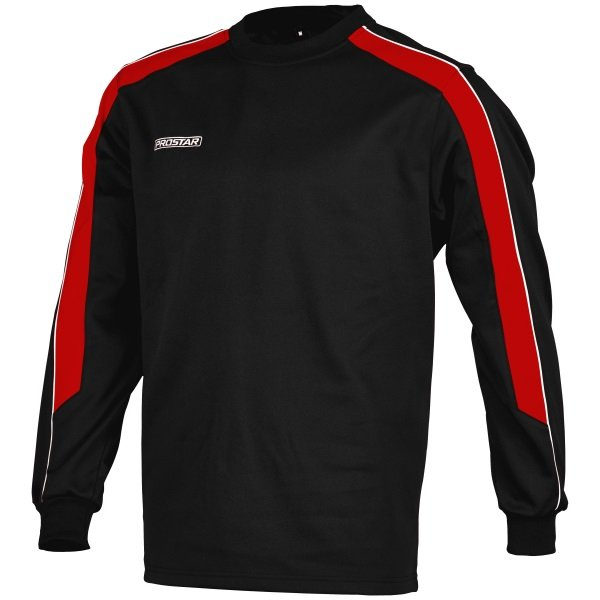 Prostar Black/Scarlet/White Magnetic Poly Sweatshirt