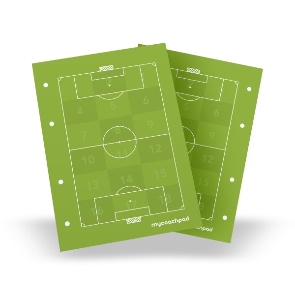My Coach Pad 50x Full Page Pitch & Analysis Zones