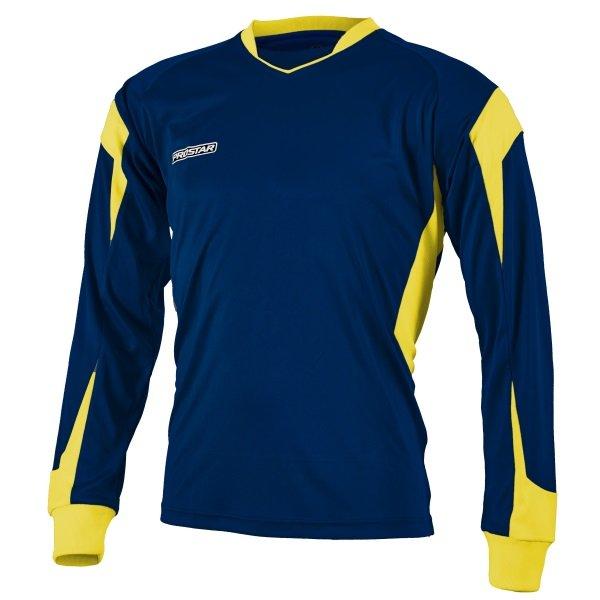 Prostar Refract Navy/Yellow Football Shirt