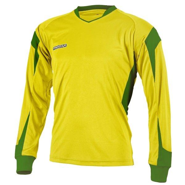 Prostar Refract Yellow/Emerald Football Shirt