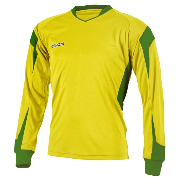 Prostar Refract Yellow/Emerald Football Shirt