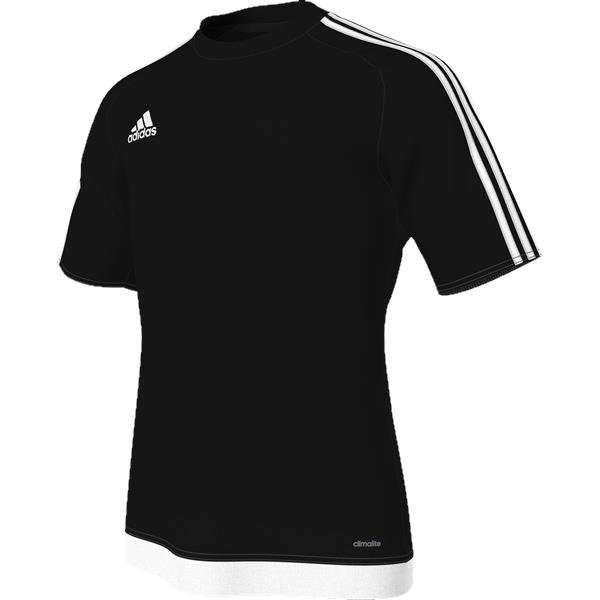 adidas Estro 15 Black/White Football Shirt Youths