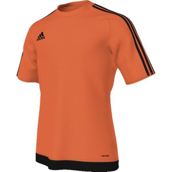 adidas Estro 15 SS Solar Orange/Black Football Shirt Youths