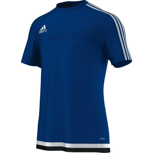 adidas Tiro 15 Bold Blue/White Training Jersey